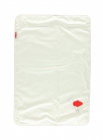 Winter baby blanket wool and bio cotton 106x73cm - Red balloon - Zizzz