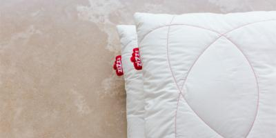 Wash your pillows without a dryer