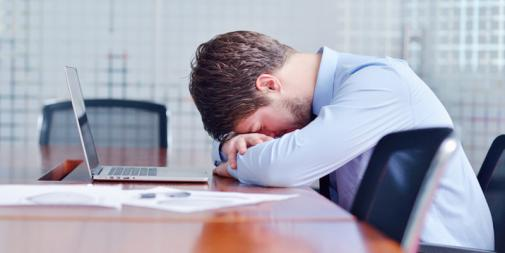How poor sleep can impact on your work